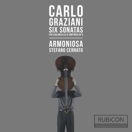 Carlo Graziani_ 6 Sonatas op. 3 for violoncello and continuoni_CD_Cover_web