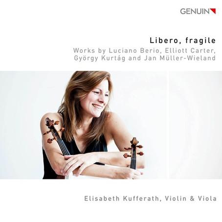 Solo Rezital Elisabeth Kufferath (Violine und Viola) am 11.11. in Braunschweig