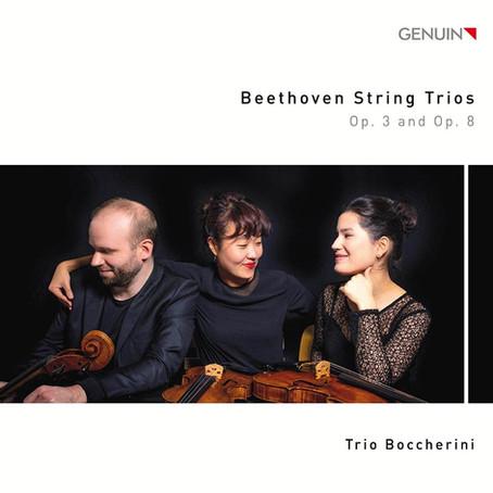 Nicht nur für Kenner und Liebhaber:  Beethovens Trios op. 3 und op. 8 -  neue CD des Trio Boccherini