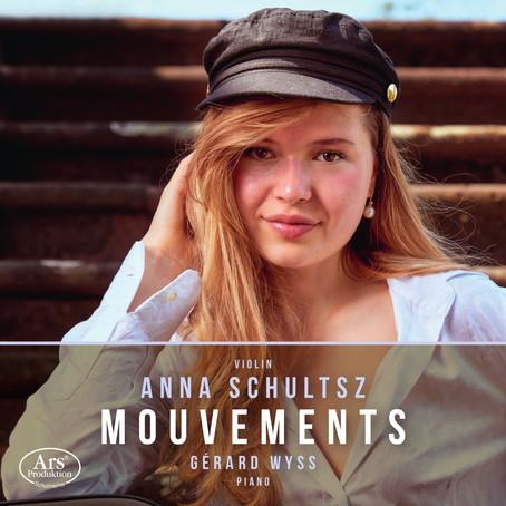 MOUVEMENTS - Debüt-CD der jungen Geigerin Anna Schultsz