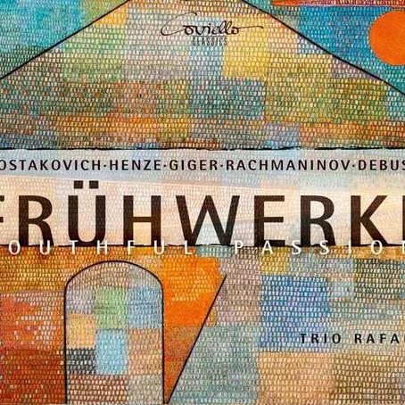 """Frühwerke: """"Höchste Bewunderung"""" im aktuellen Fono Forum"""