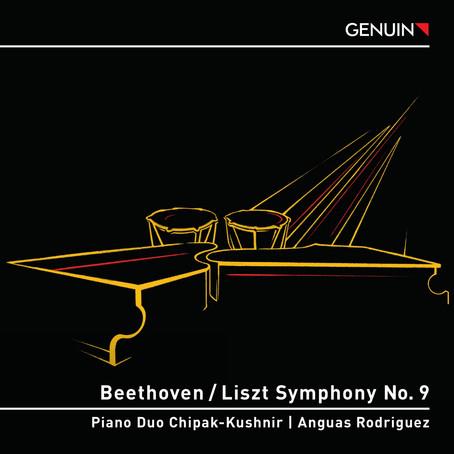 Ersteinspielung von Beethovens Symphonie Nr. 9 für zwei Klaviere mit Pauke