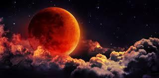 El Eclipse total luna de sangre del 21 de enero del 2019