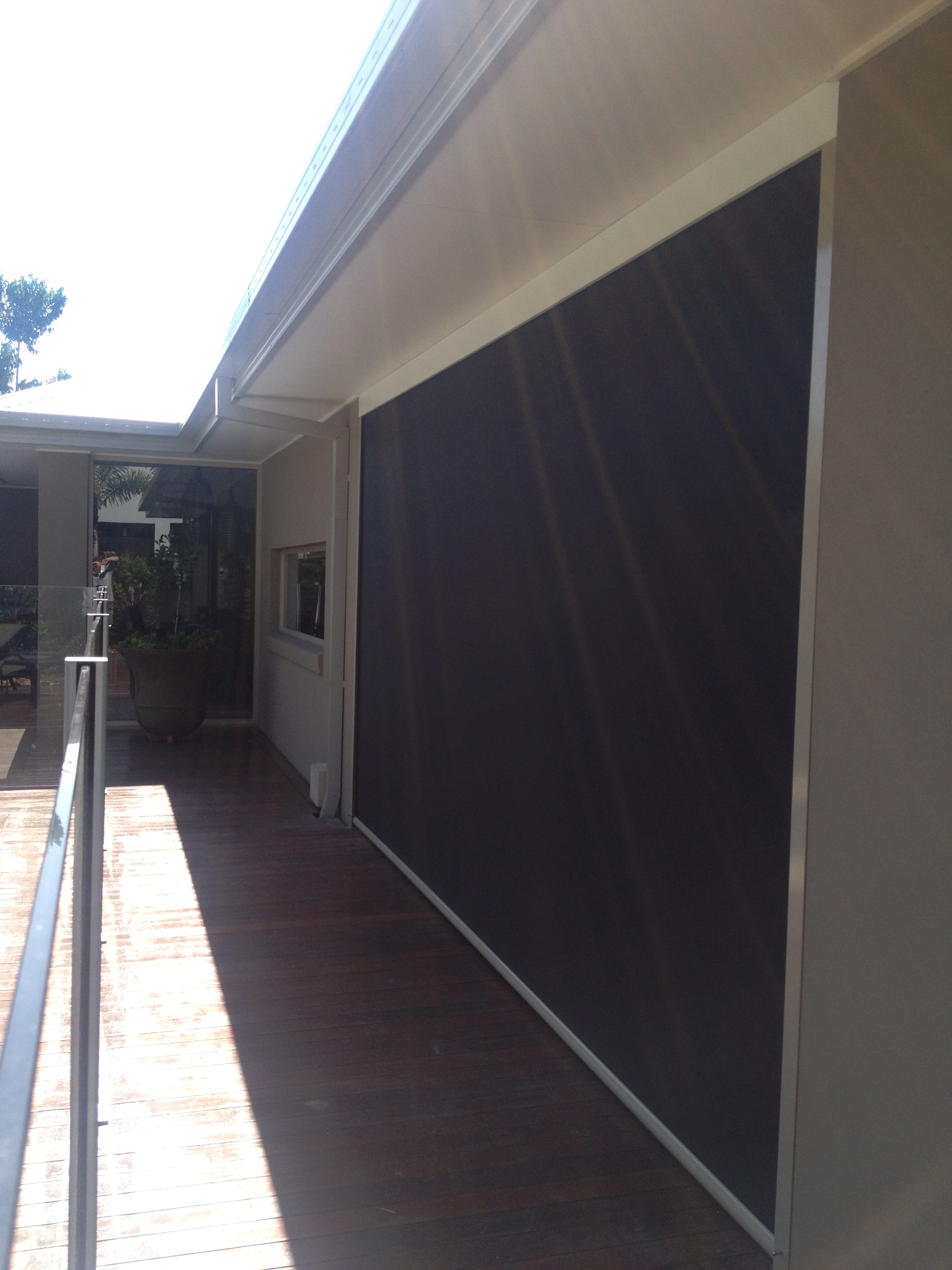 Lusso outdoor blind Widescreen