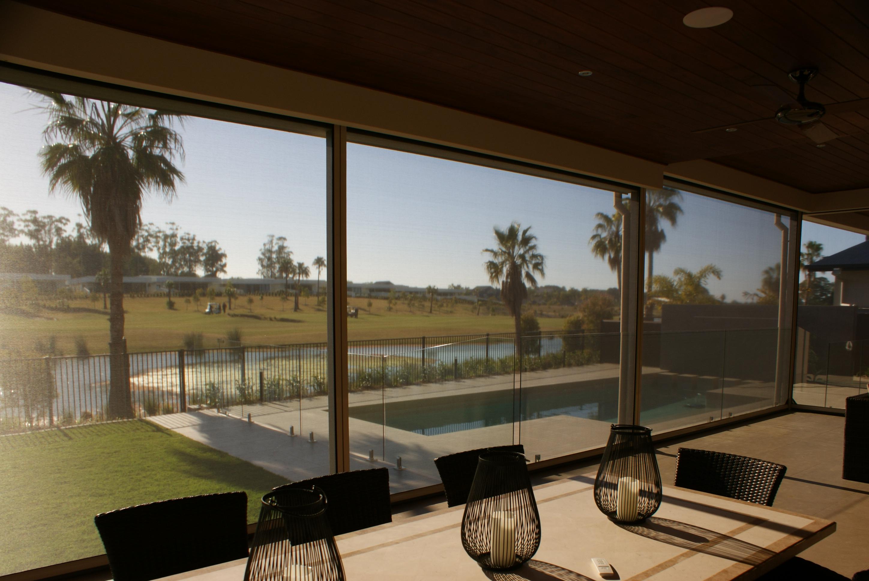 Lusso outdoor blind Widescreen