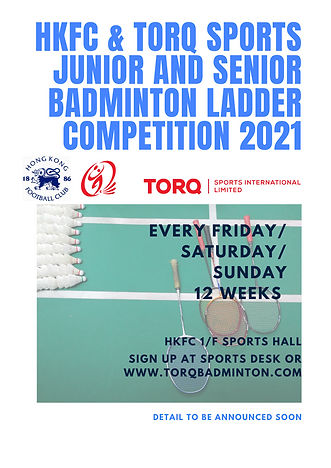 HKFC & Torq Badminton ladder competition