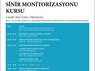 İzmir Atatürk Eğitim ve Araştırma Hastanesi 'Tiroid Cerrahisinde Sinir Monitorizasyonu Kursu&#39