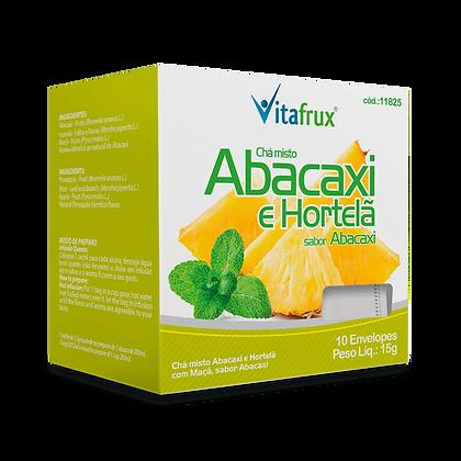Chá de Abacaxi e Hortelã - 10 sachês