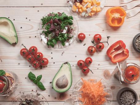 Alimentação saudável no controle do colesterol ruim