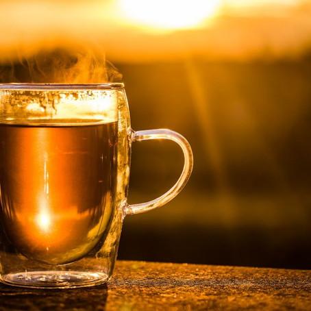 Chá Quente durante as refeições?