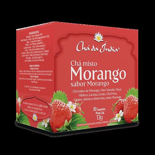 Chá misto de Morango