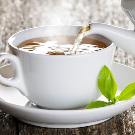 O chá para uma vida saudável