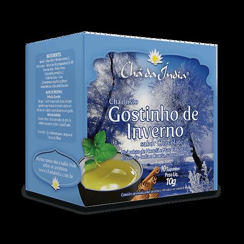Chá misto Gostinho de Inverno, sabor Chocolate