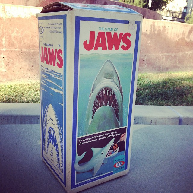 SCROOZE Sunday morning Toy Hunt find!! The Game of JAWS 1975 #scroozetoys#jaws#toyhunter#collectible