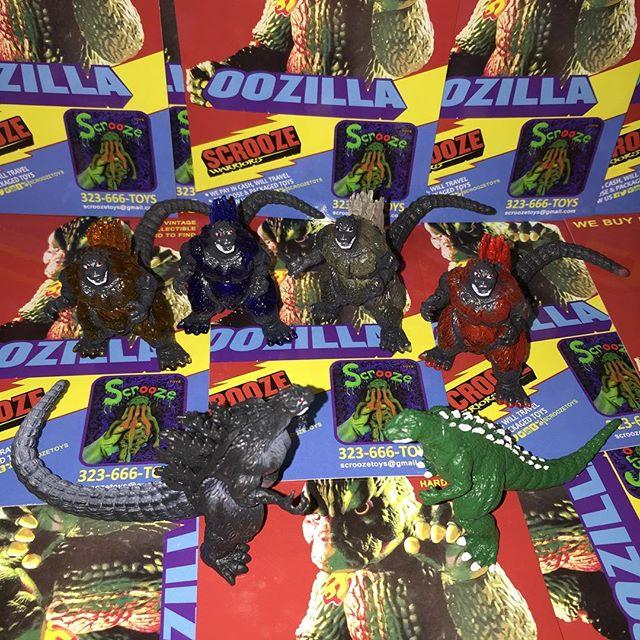 Scroozetoys is buying Godzilla kaiju shogun warriors and vinyl toys . 323-666-toys follow me I follo