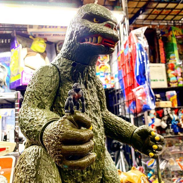 To scale Godzilla vs King Kong I wish th