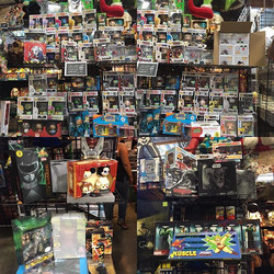 San Diego Comic Con Exclusives 2016 out on display