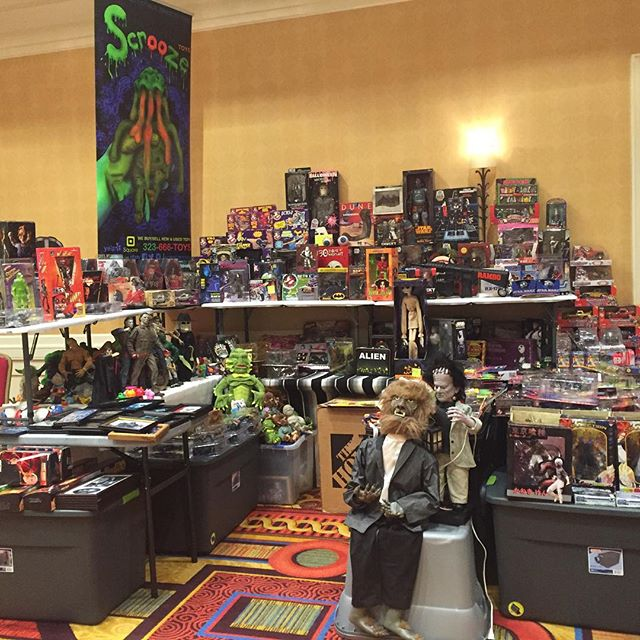 Bakersfield Come see us at the Marriot #scroozetoys #selling #toysforsale #toyshow #collectibles #he
