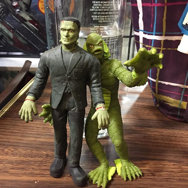 Monsters Frankenstein and Creature Jigglers #universalmonsters #frankensteinsmonster #creaturefromth