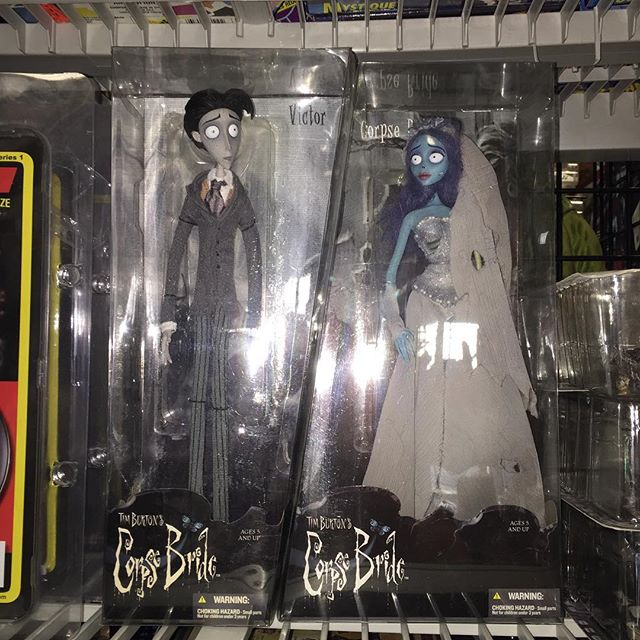 Tim Burtons Corpse Bride $125 free shipping #paypal #collectibletoys #scroozetoys #timburtonmovies #
