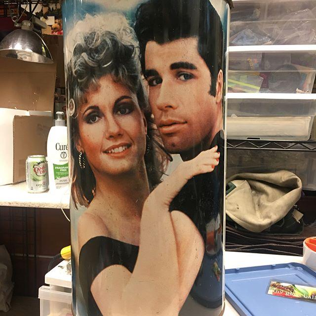 1978 super rare grease the movie tin lit