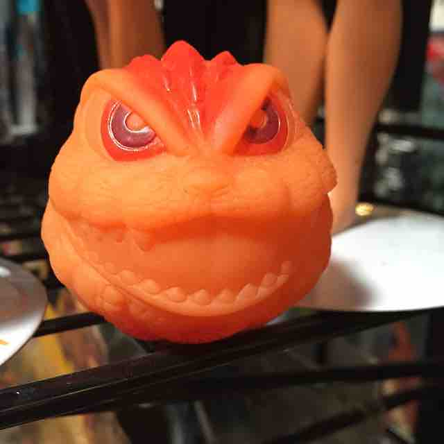 Godzilla Monster Ball #scroozetoys #godzilla #monsterball #madballs #japanesetoys