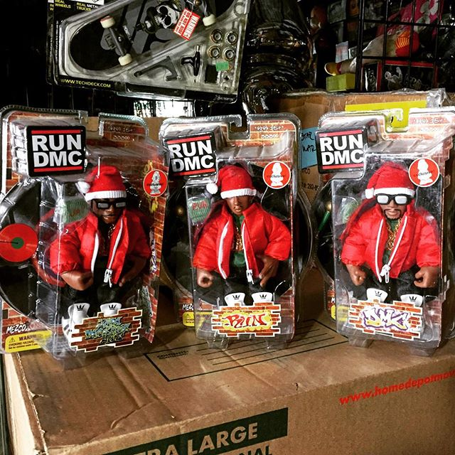 Just in time for the holiday's from the the scroozetoys vault mezco and kidrobot RUN DMC for sale ca
