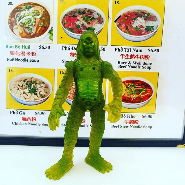Remember when fast food toys were actually cool. Universal monsters from Burger King