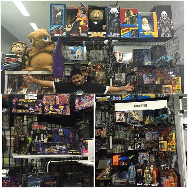 Silicon Valley Comic Con visit us #scroozetoys booth229 this weekend March 18-20, 2016 #toyshow #toy