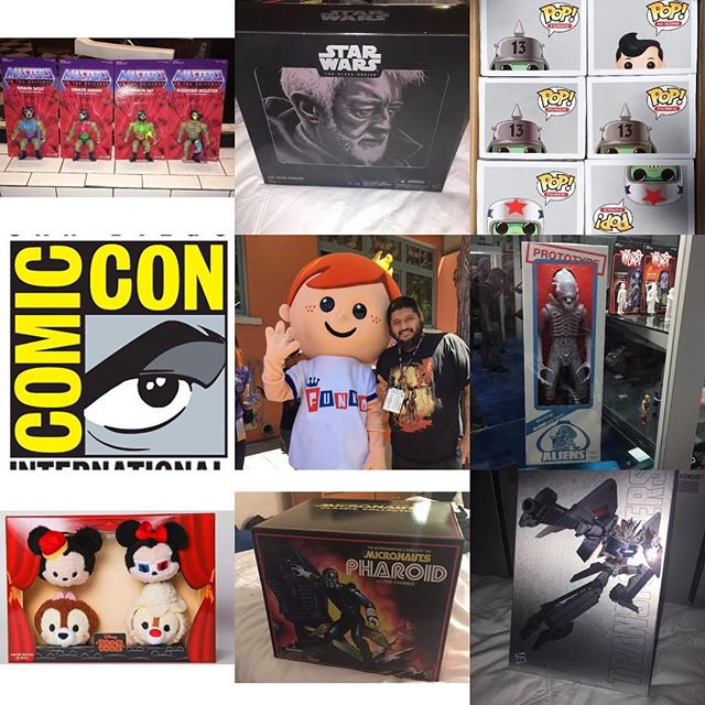 San Diego Comic Con 2016 #scroozetoys has #exclusivetoys #toysforsale #actionfigures #paypalaccepted
