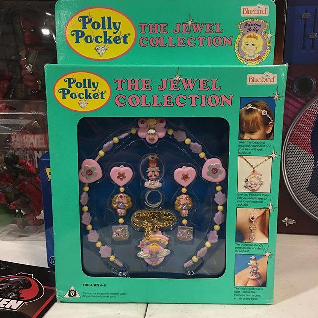 Rare bluebird polly pockets the jewel co