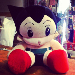 Vintage Tezuka Astro Boy 15_ Plush Available $$ #astroboy #japan #screwtoys #screwtoyshollywood #vin