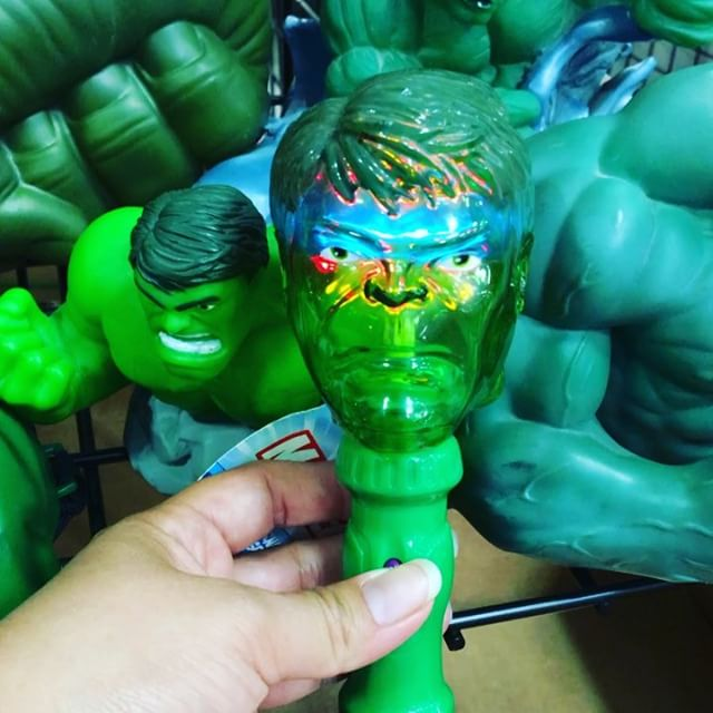 Light up Hulk Head #scroozetoys #theincrediblehulk #marvelcomics