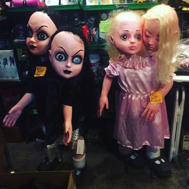 $120 each Halloween full size props 4 feet tall Siamese twins