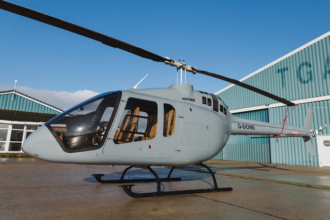 Autopilot System for Bell 505 Certified in the United Kingdom