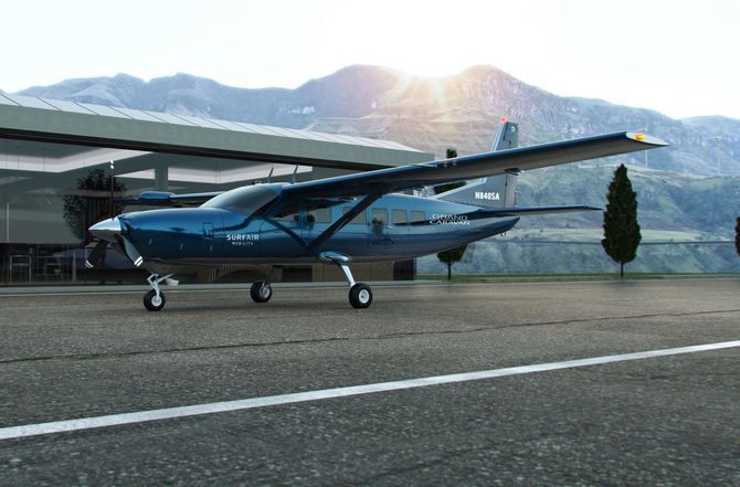 TEXTRON AVIATION ANNOUNCES ORDER FOR UP TO 150 CESSNA GRAND CARAVAN EX AIRCRAFT TO AID SURF AIR MOBI
