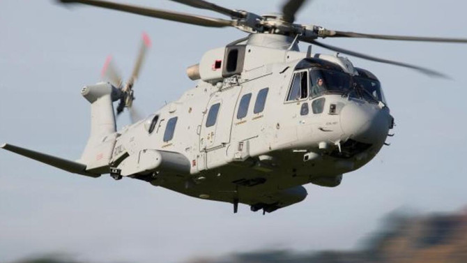 Leonardo's AW101 for the Polish Navy flies for the first time