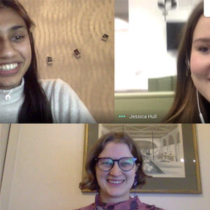 Introducing interns Cassia, Jess and Nishat