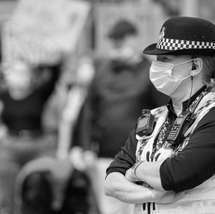 Policing the pandemic: public attitudes to police visibility, enforcement and fairness