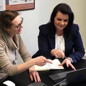 Welcoming Crest's new Office Administrator, Marta Czyz