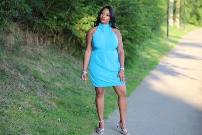 Halter Dress Simplicity 1159