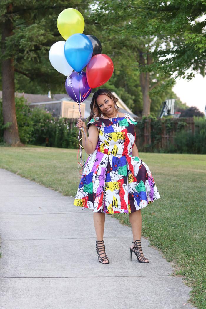 DIY Birthday Dress McCall's L9427