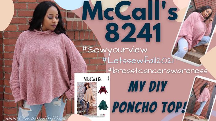 McCall's 8241 - DIY Poncho!