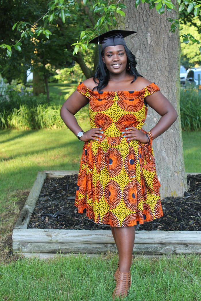 Graduation Dress!! McCall's 7719 & Butterick 6284