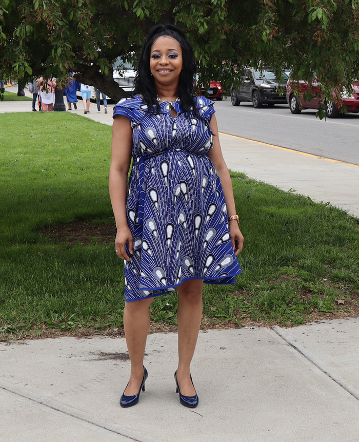 McCall's 7891 Dress for my  Son's College Graduation!