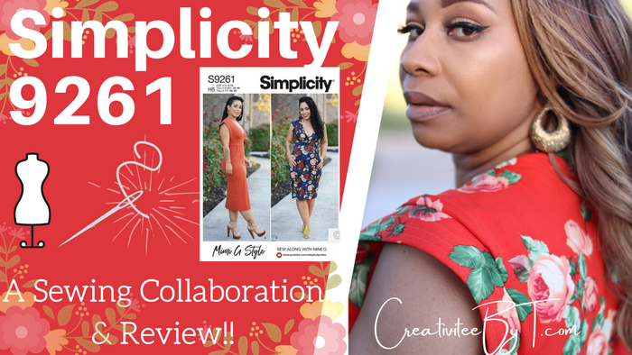 Simplicity 9261, A Sewing collaboration with The Twilight Stitcher!!