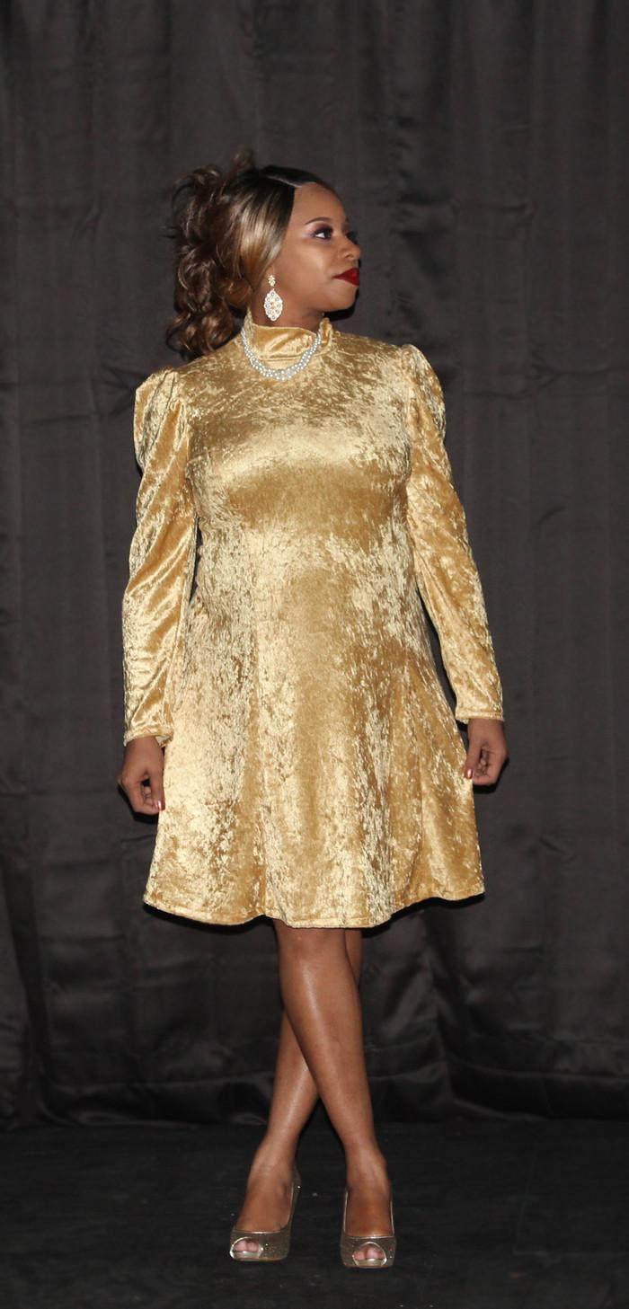 Vogue 9264, Holiday Dress #1