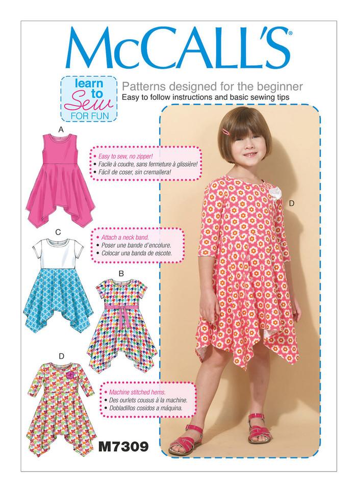 Dance Dress; McCall's 7309