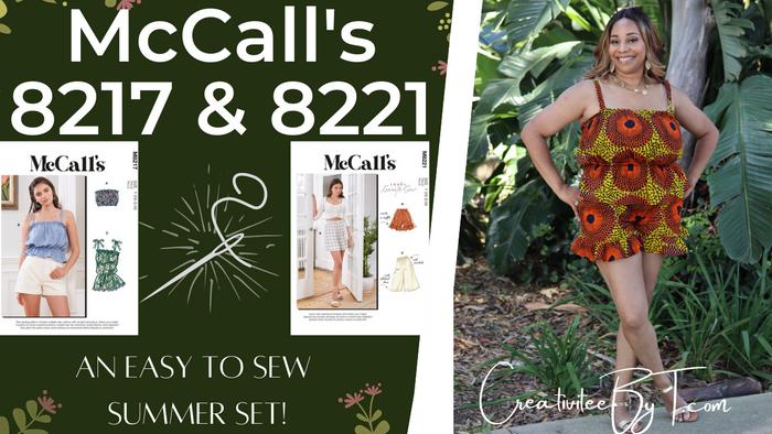 McCall's 8217 & 8221. Cute Summer Set!