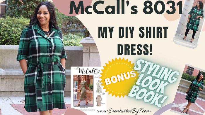 McCall's 8031 Shirt Dress